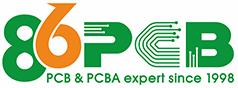 86PCB Logo