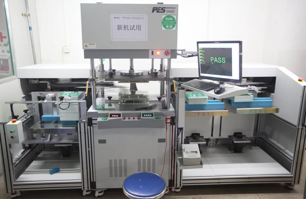 Auto E-Test machine