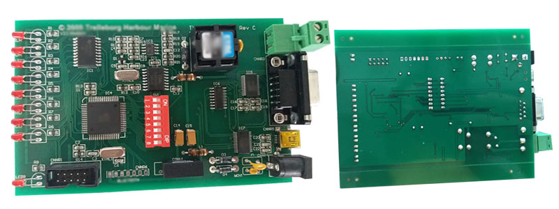printed circuit board for large ship
