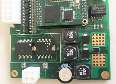 toy car control pcb board assembly