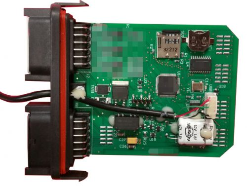 Electronic Control Board Assembly For Hydraulic Arm