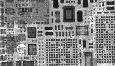 distant view of soldering situation