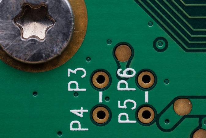 silkscreen on PCB