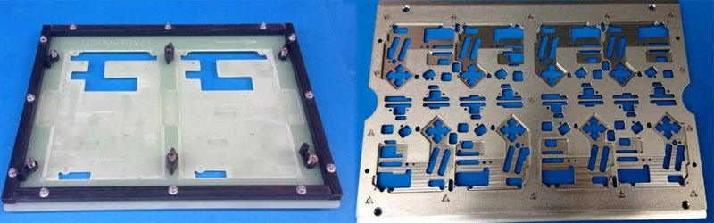 Reflow carrier for pcb
