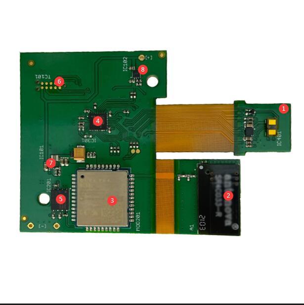 Wireless connection liquid level detector