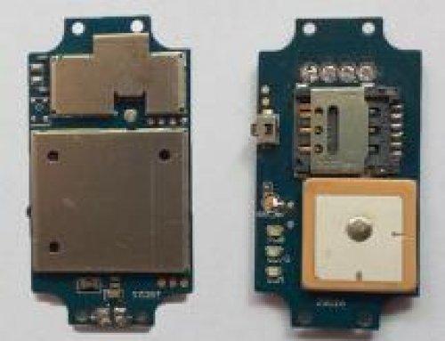 Pet tracker PCBA board